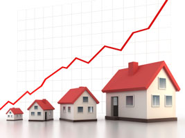 Real Estate investments increase in Value