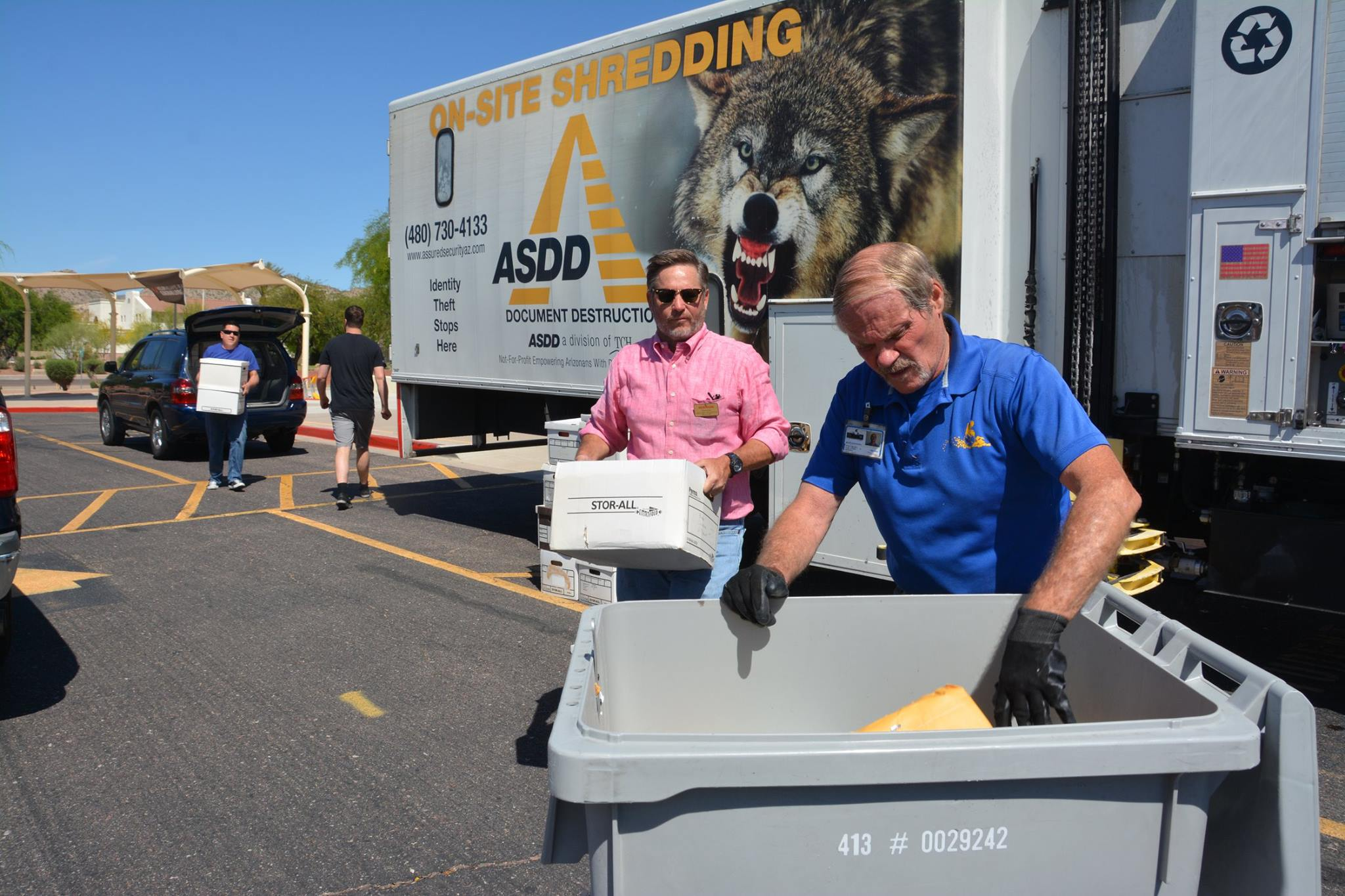 FREE Shred-A-Thon at Kyrene Monte Vista Elementary school